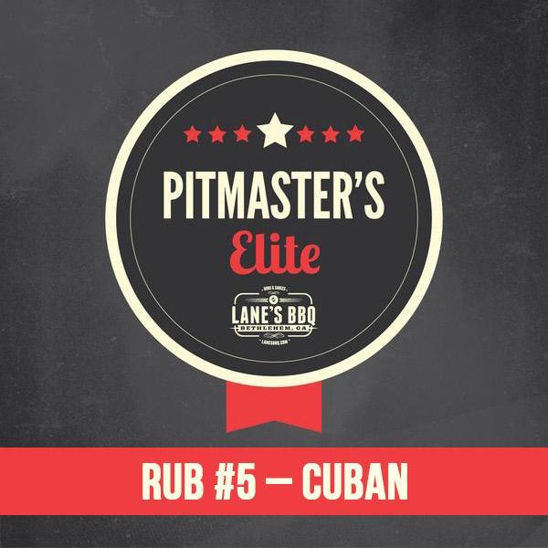 PITMASTER'S Elite Rub #5 Cuban $25.00