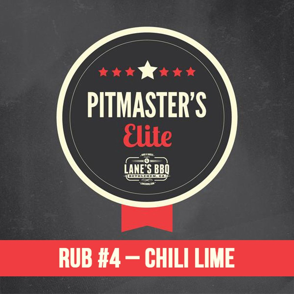 PITMASTER'S Elite Rub #4 Chili Lime $25.00