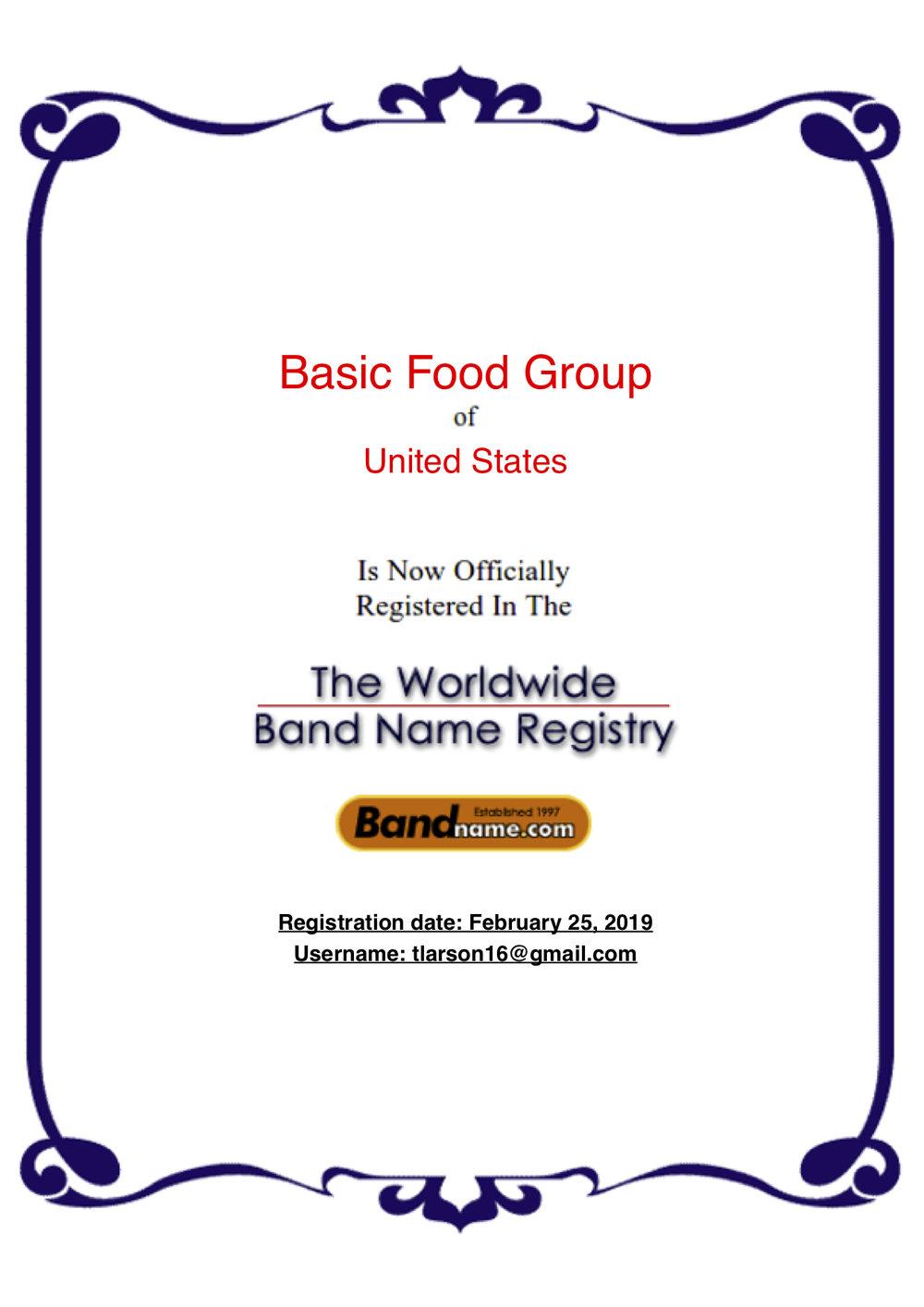 BasicFoodGroup Worldwide Band Name Registry.jpg