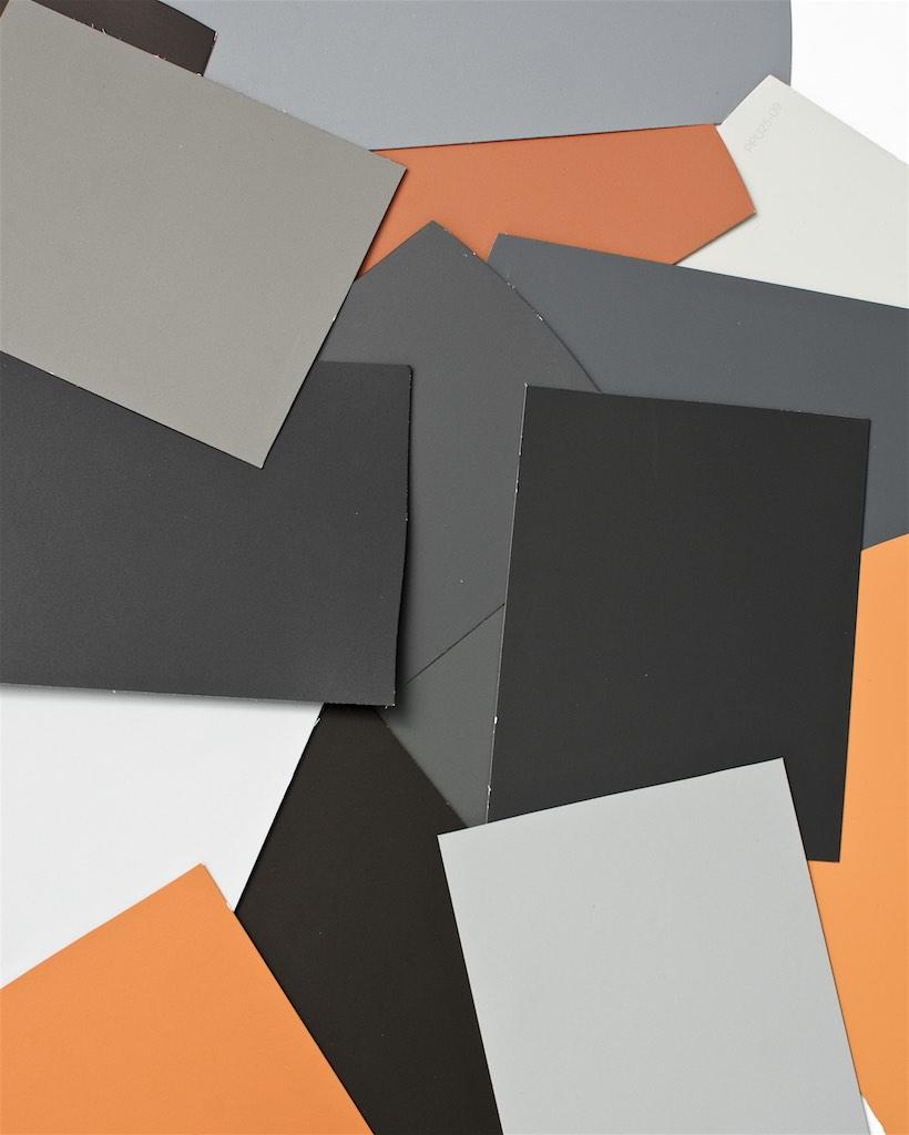 Autumn color scheme ideas living room