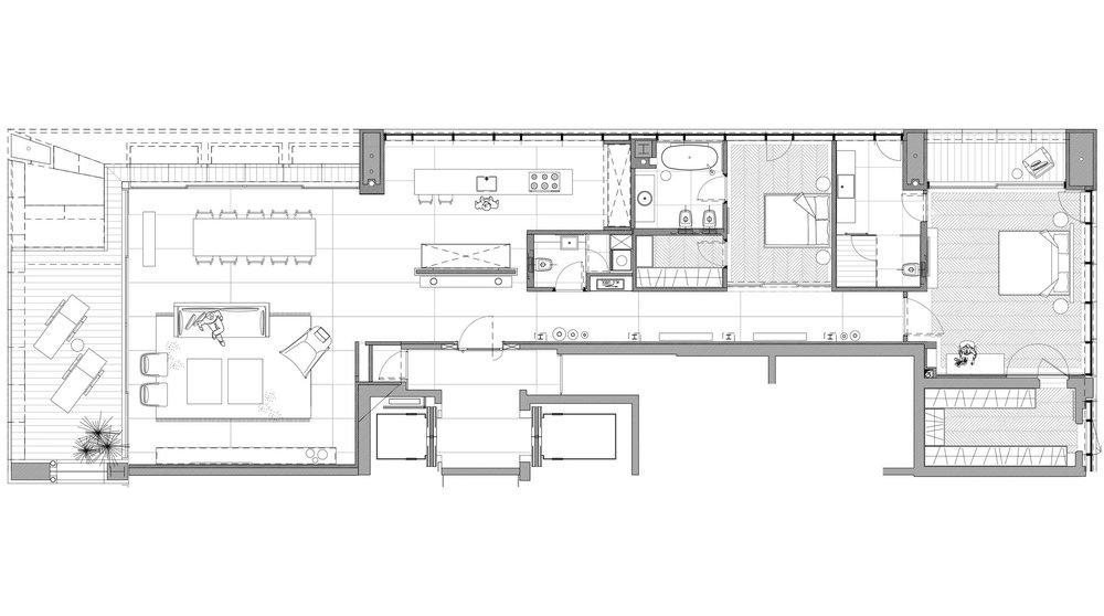 luxury apartment interior design plans
