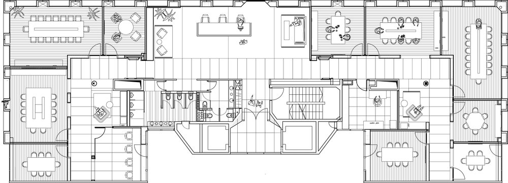 office space floorpan