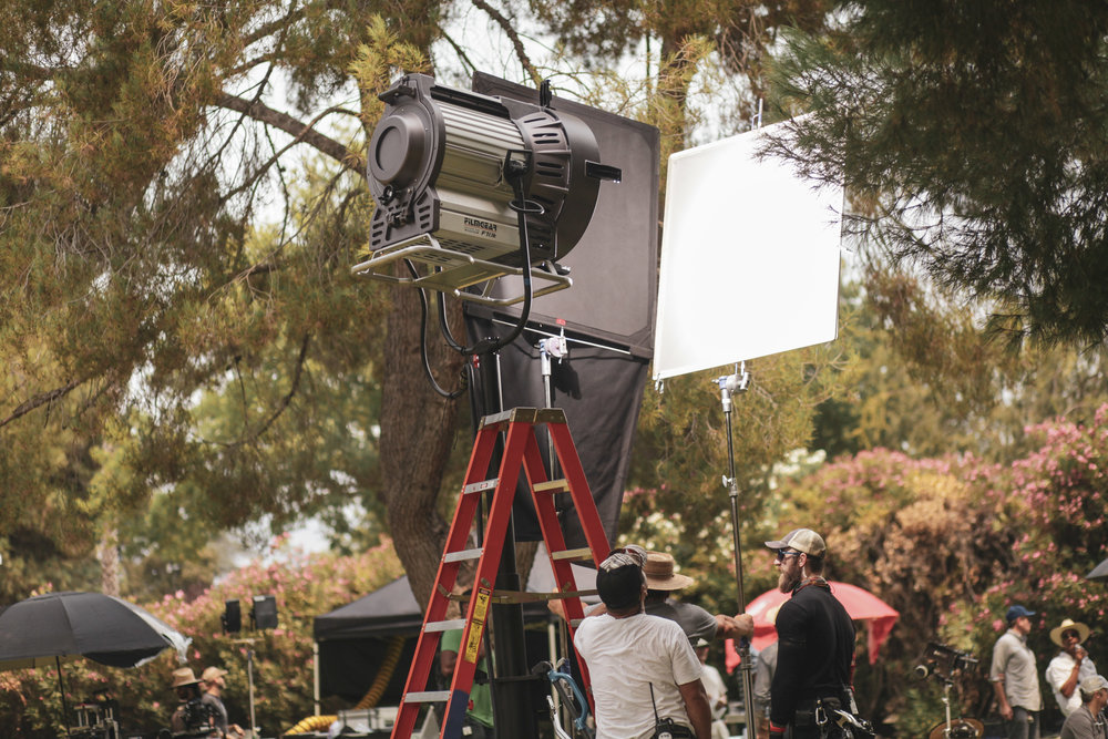 Last week FilmGear had the pleasure of lighting up an episode for  The CW hits series Crazy Ex-Girlfriend.   Local 728 gaffer  Don Mazi Mitchell  used our  F18  light for a scene shot in Altadena, CA.  Crazy Ex-Girlfriend's fourth and final season is set to premiere on The CW on  October 12, 2018 , and will consist of 18 episodes.  Photography by  Lixe Hernandez
