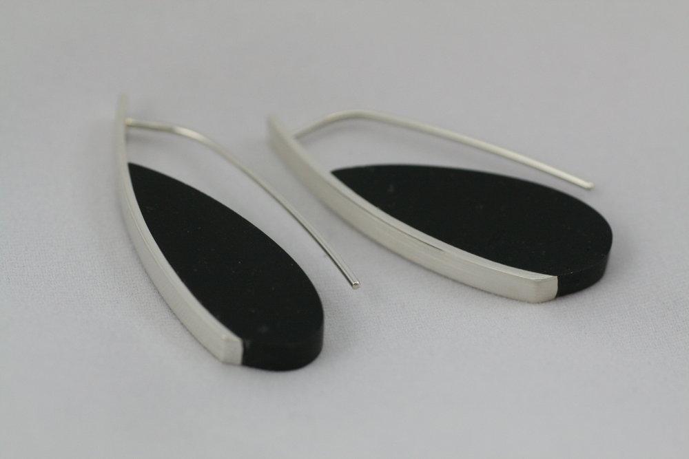 Curve Earrings #6