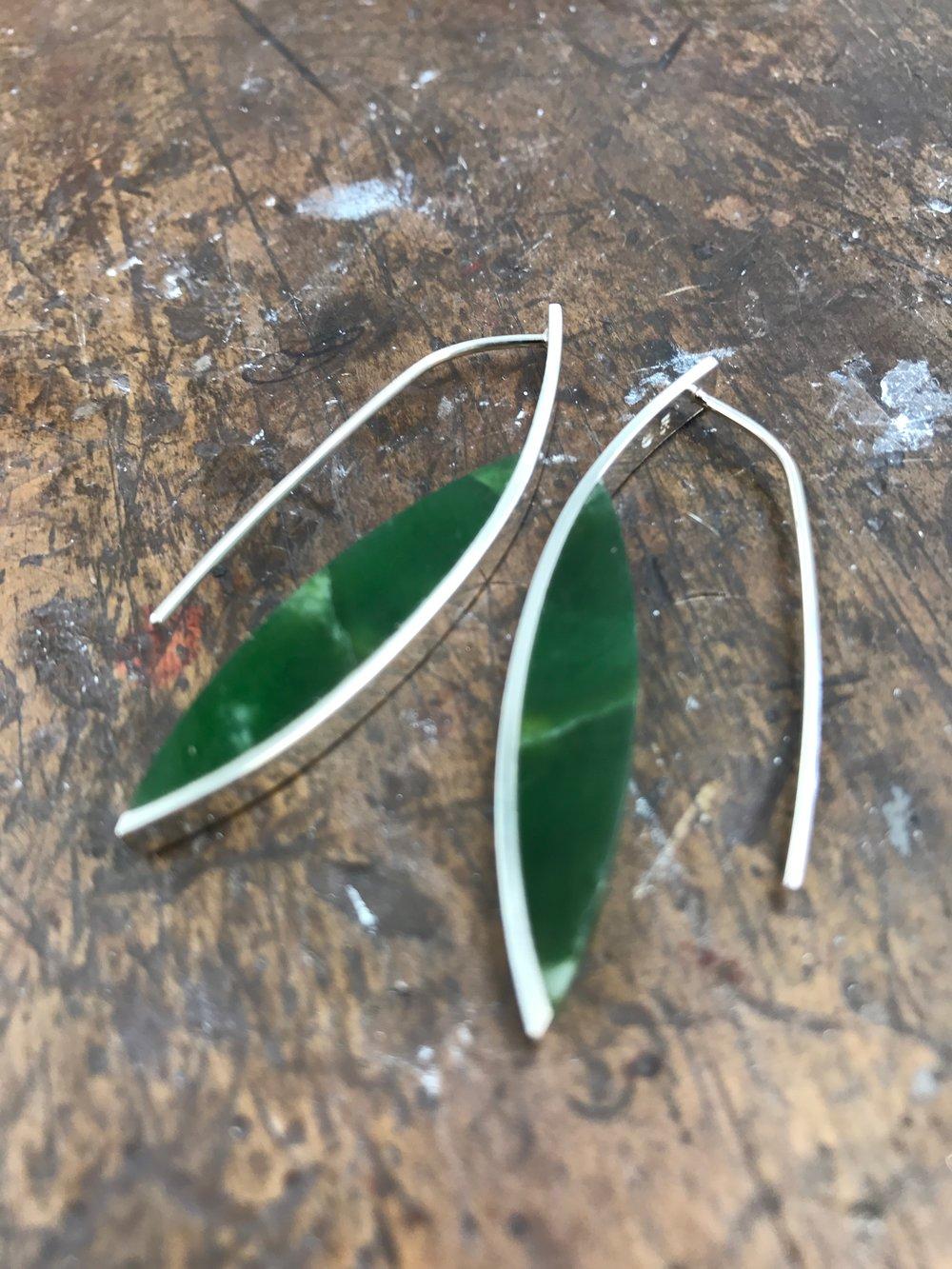 Curve Earrings #5