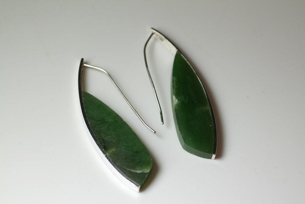 Curve Earrings #3