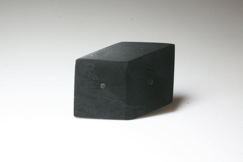 3D Cube Brooch