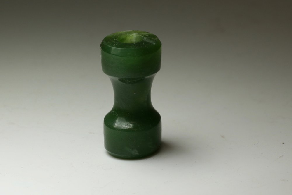 - A replica of the sleeping bag toggle that Sir Edmund Hillary used. For Macpac NZ.Pounamu