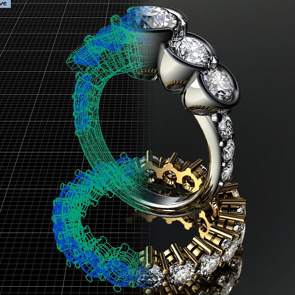 Donna Laine bespoke jewellery design