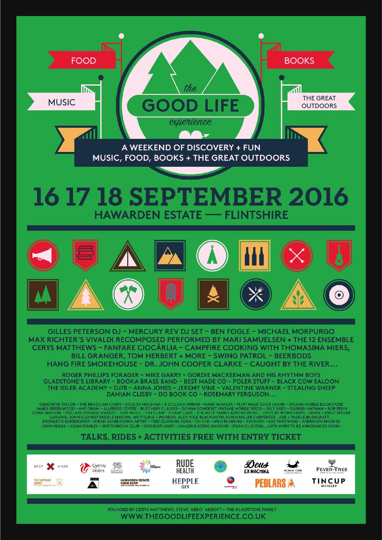 TGLE 2016 lineup poster