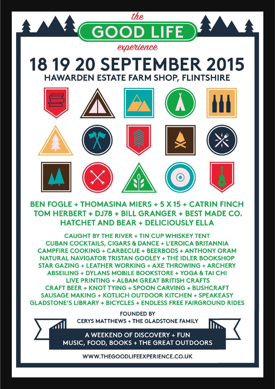 TGLE 2015 lineup poster