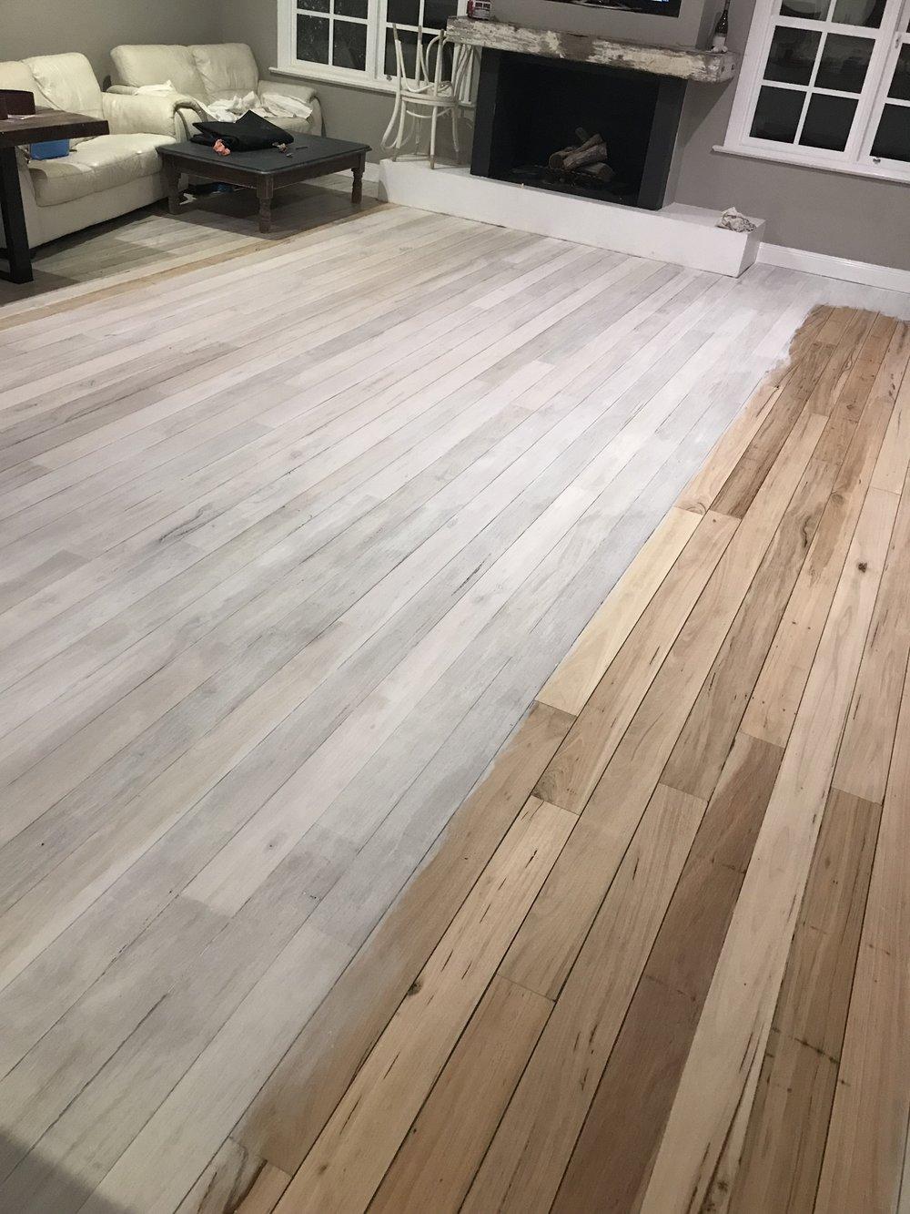 Limewash floorboards DIY Design 2 Build Interior Designer Warrnambool 3.jpg