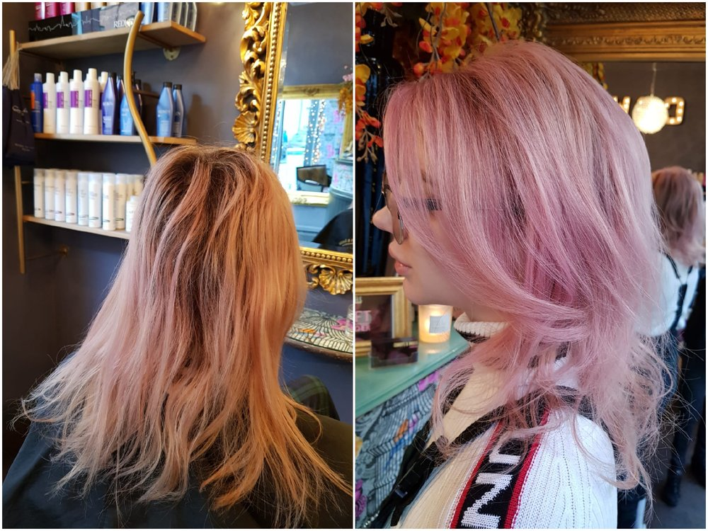 Before & After - Colour by Kim