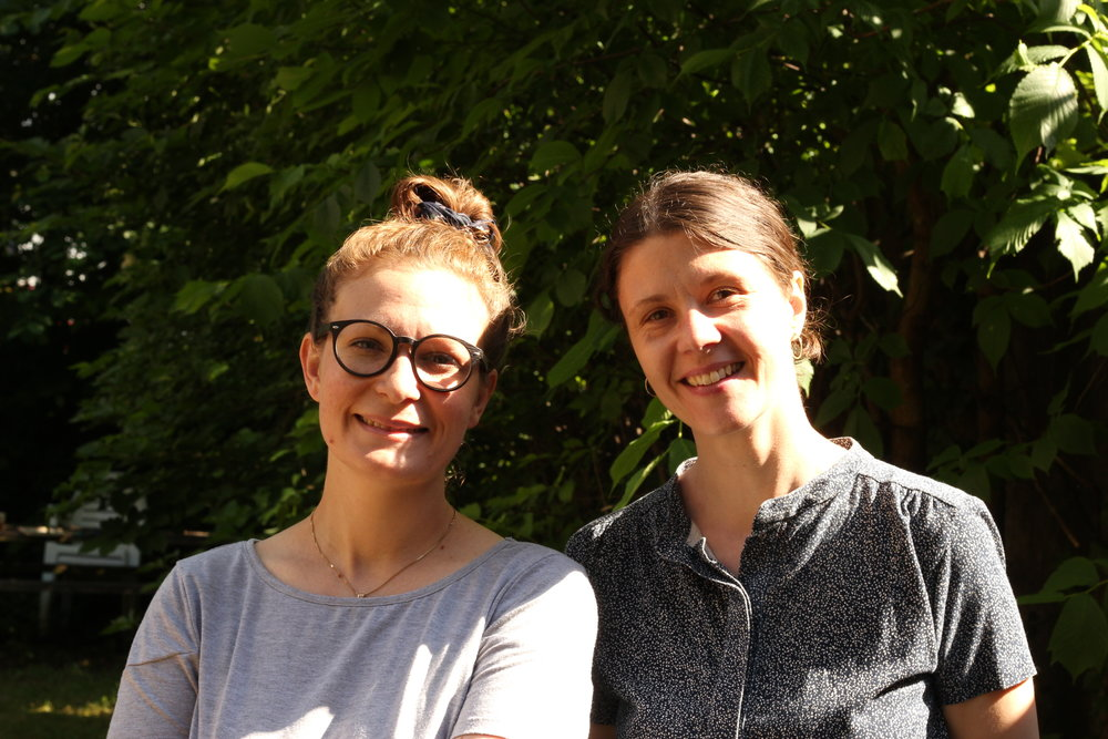 Kristine og Louise