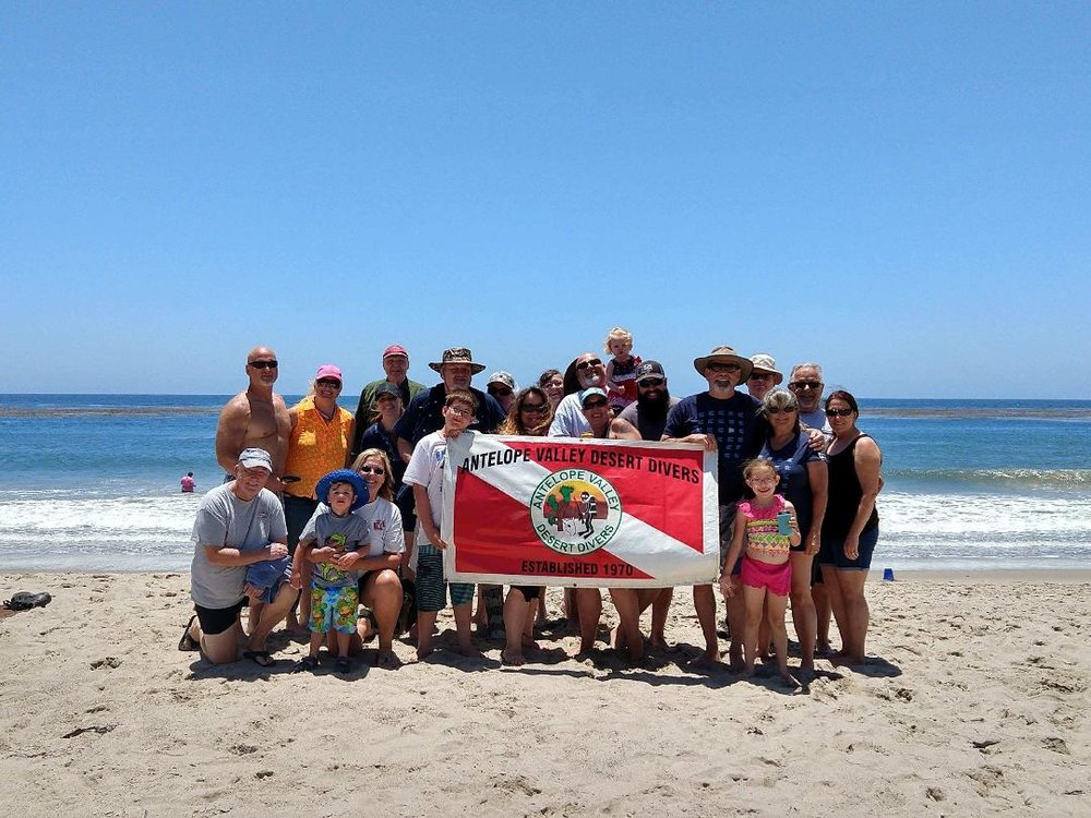 Club's annual Clam Chowder Dive. Fantastic beach diving followed by delicious homemade clam chowder.