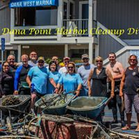Club dive at the Dana Point Harbor Cleanup