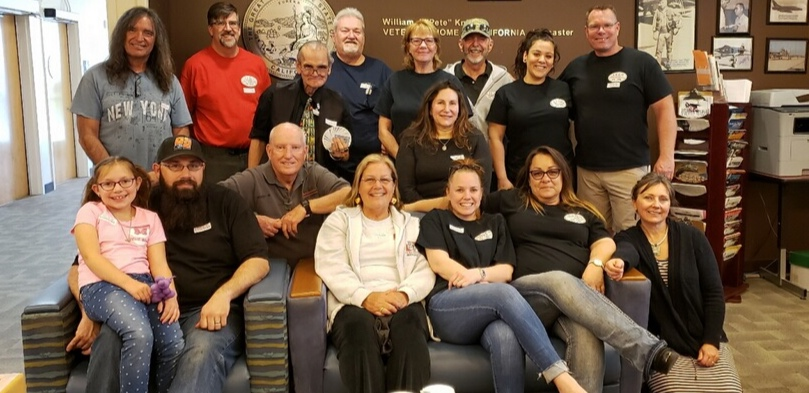 """April 6, 2019 volunteer luncheon at the William J. """"Pete"""" Knight Veteran's Home in Palmdale, CA. A group of volunteers cooked and served lunch, spent time with our honorable veterans, and generally had a great time."""
