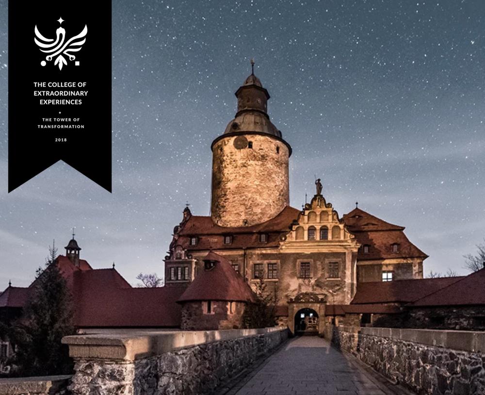 The College of Extraordinary Experiences - Incepand cu anul 2016 am creat experiente culinare pentru o conferinta anuala despre design de experiente la care se aduna unii dintre cei mai creativi oameni din lume. Experientele culinare de poveste au fost oferite timp de patru zile intr-un castel din secolul XIII in Polonia.