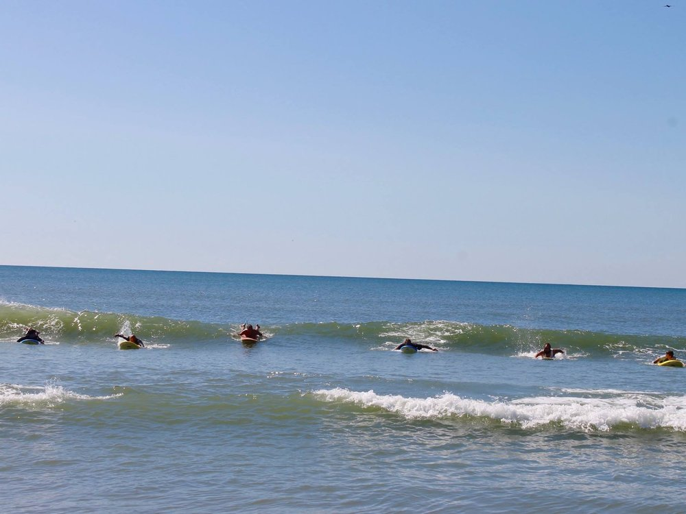 SURF - The unfortunate effects of war can be counteracted by using the ocean as a healing remedy. Our program helps to break the cycle of trauma, so the body and brain can work through residual feelings of discomfort and distress.