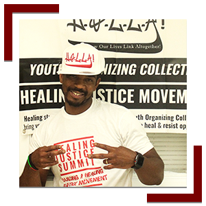 Cory Greene - Co-Founder, Board Member, and Healing Justice Organizer
