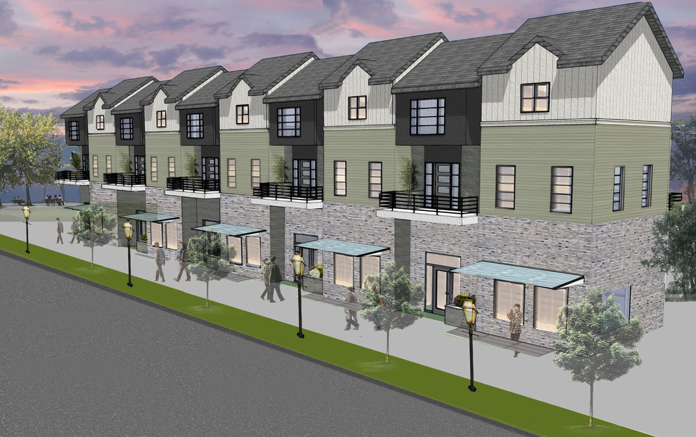 Eau Claire Development   Brownstone was sourced by the Eau Claire Development Corporation to provide conceptual master planning and building rendering services to determine the feasibility of advancing this project.