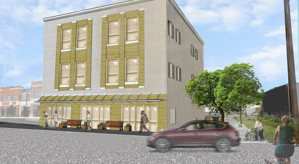 Dargan Street Development   Brownstone is renovating two historic buildings that will house local businesses and shops, as well as possible living spaces.