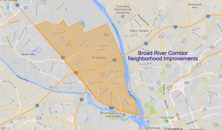 Broad River Road Corridor