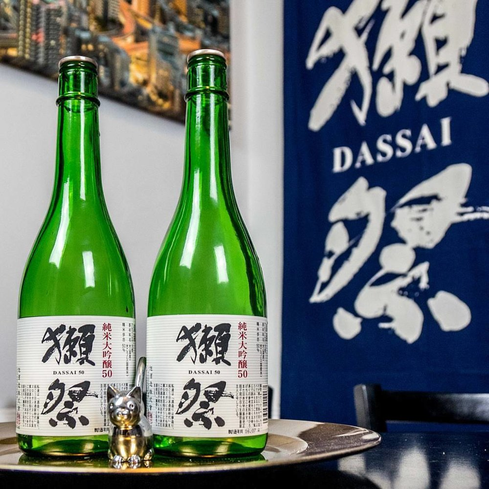 This was a promo shot we did for an early test episode that we ended up not publishing. It was dedicated to understanding sake labels, and featured Dassai 50! We need to revisit this concept someday! #dassai #sake #sakesunday #sakekampai #dassai50 #日本酒 #山口県 #純米大吟醸