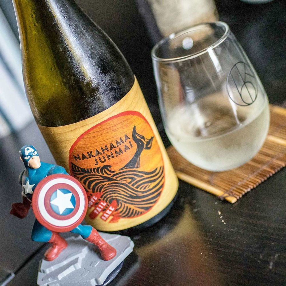 This weekend on our live show, we will be tasting and talking about @dovetailsake made right here in the US (Massachusetts to be exact). Join us on Facebook this Saturday at 7 EST! #sake #sakestudies #sakesaturday #sakesaturdays #captainamerica #dovetail #junmai