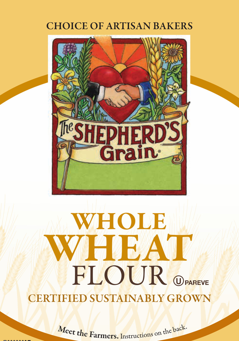 2 Bags Of 5lb Whole Wheat Flour Shepherd S Grain