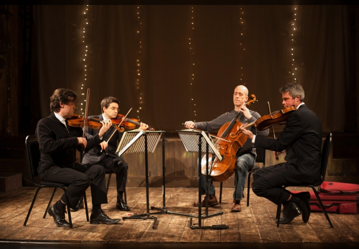 The Kreutzer Quartet are the BVMA's quartet in residence for Maker's Day from 2019.