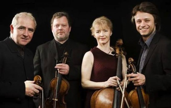 The Brodsky Quartet, the BVMA's quartet in residence for Maker's Day 2017-18, with huge thanks and appreciation.