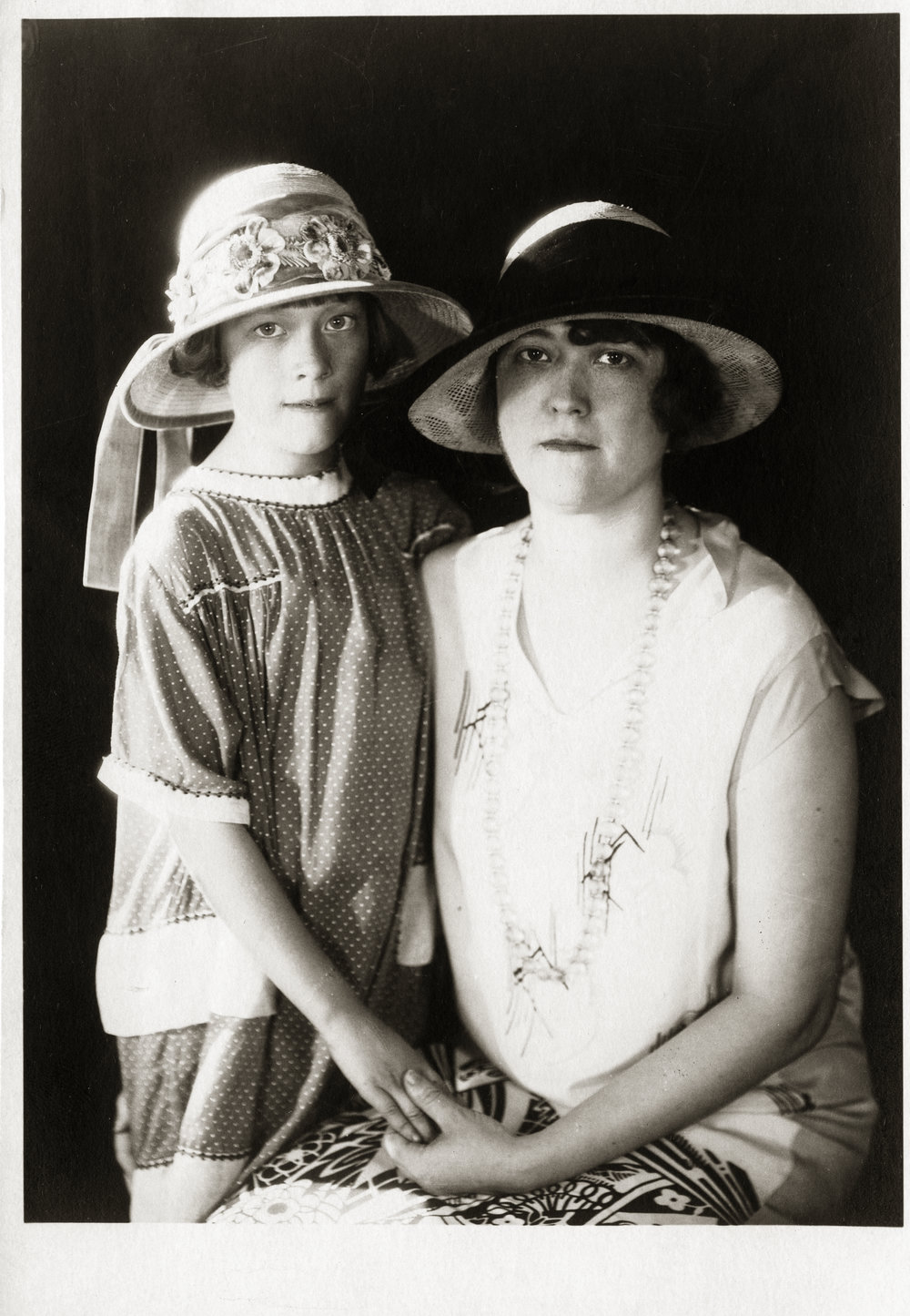 Geraldine R. Snedden and daughter, Geraldine