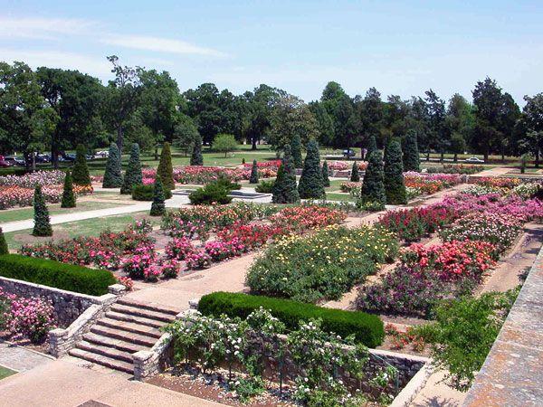 Tulsa Rose Garden (c. 1970s)