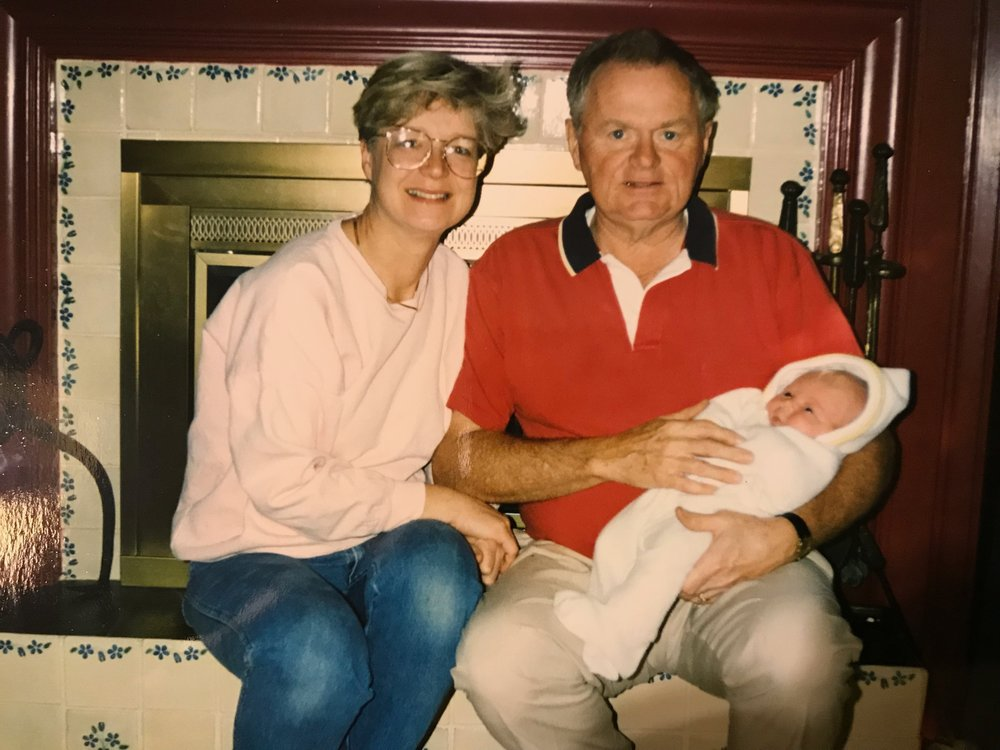 Grammy Pat and Granddaddy with Ellen