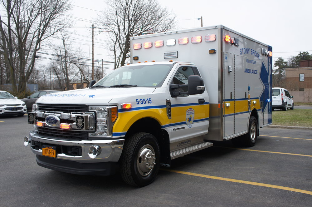 stony brook college ambulance