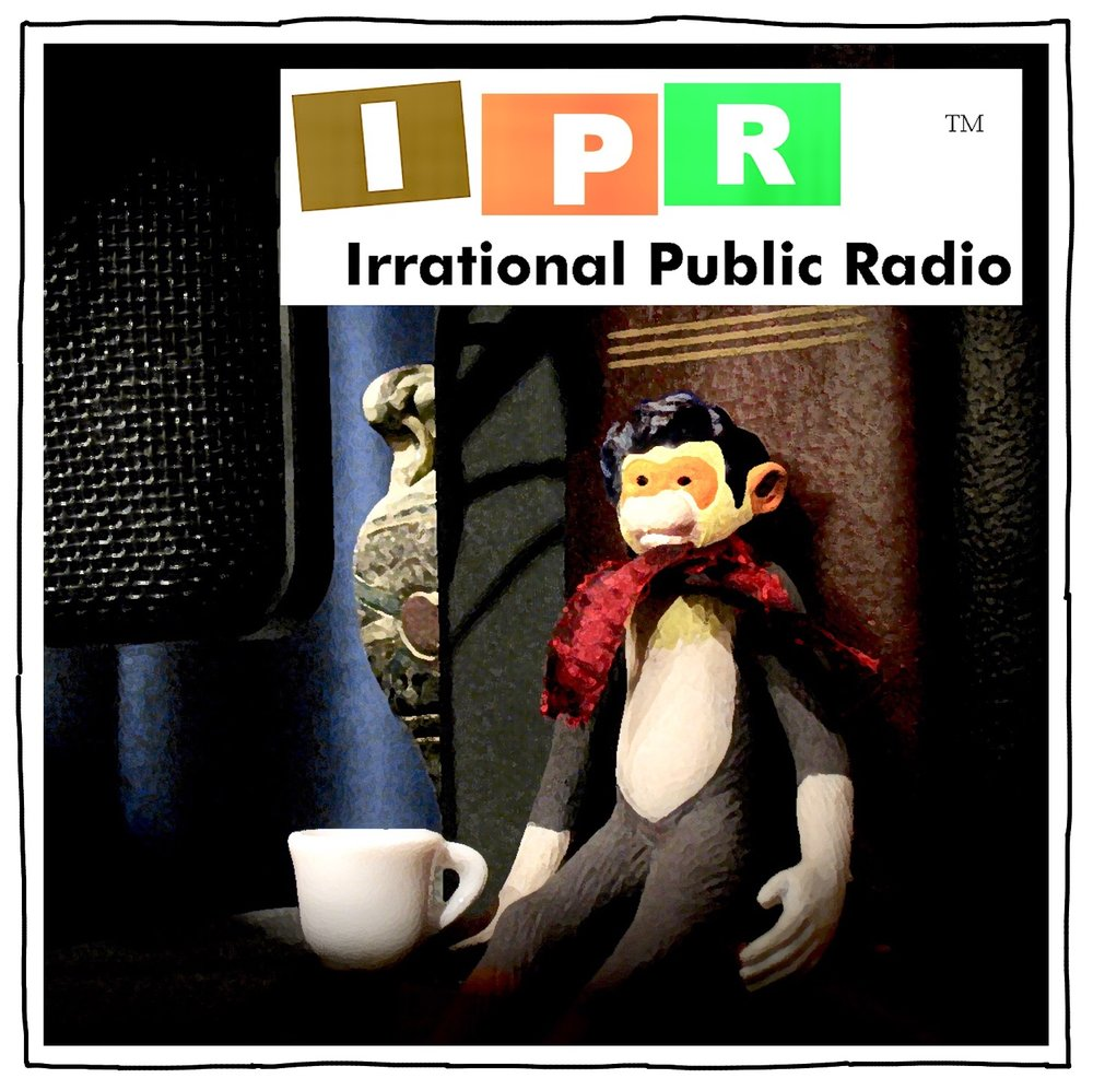 "IPR - He created, wrote, directed, produced, and edited this public radio parody podcast. Many very talented actors, as well as actual public radio personalities, lent their talents. The project has been on the back burner since an evil orange hobgoblin ruined the very notion of ""fake news"" by applying the term to real news he just didn't like. You can listen to the whole podcast archive here, and subscribe to wait patiently for it to come back when the world is slightly less horrible in this regard."