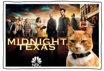 """Me? How?? "" - an unauthorized episode of the NBC series  Midnight, Texas ."