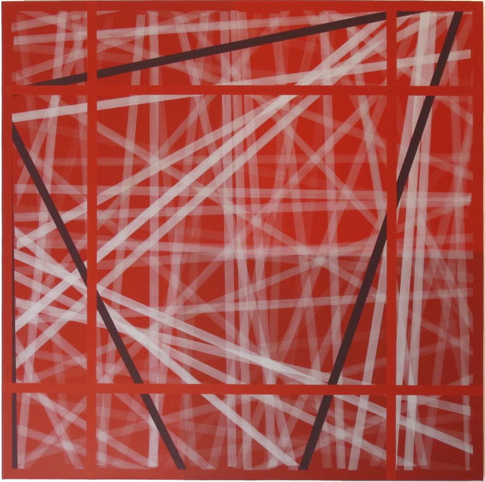 Rush of Departure, 2011, 50x50