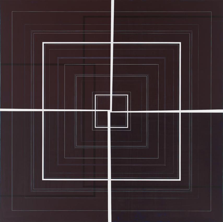 Squared Square, 2009, 70x70