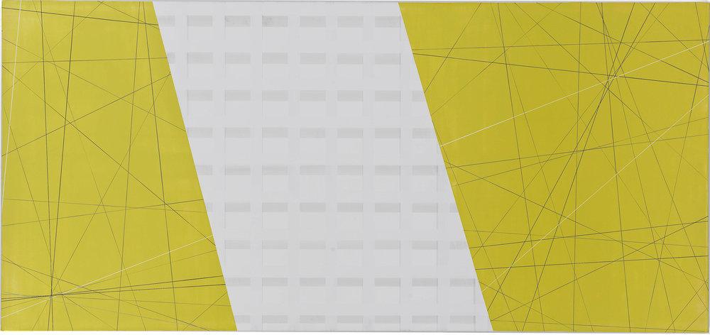 Yellow #2, 2011, 40x75