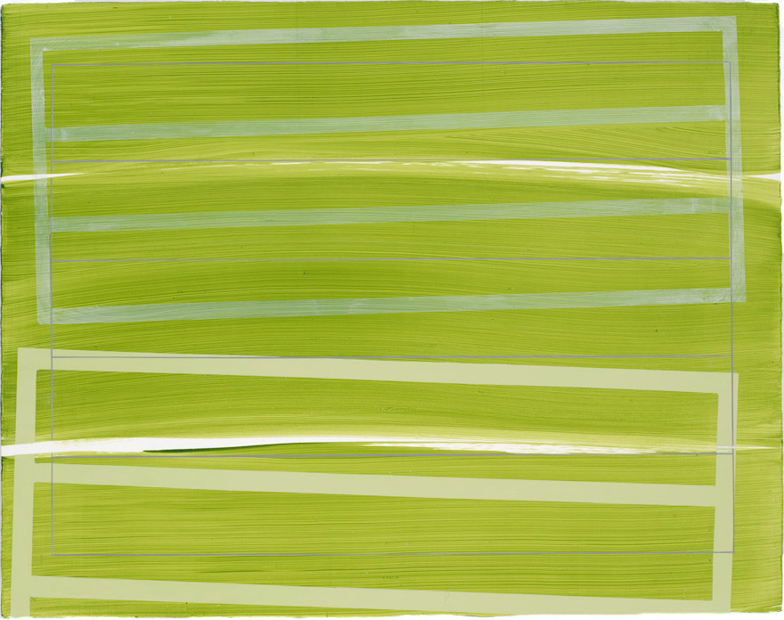 Green Float, 2009, 11x14
