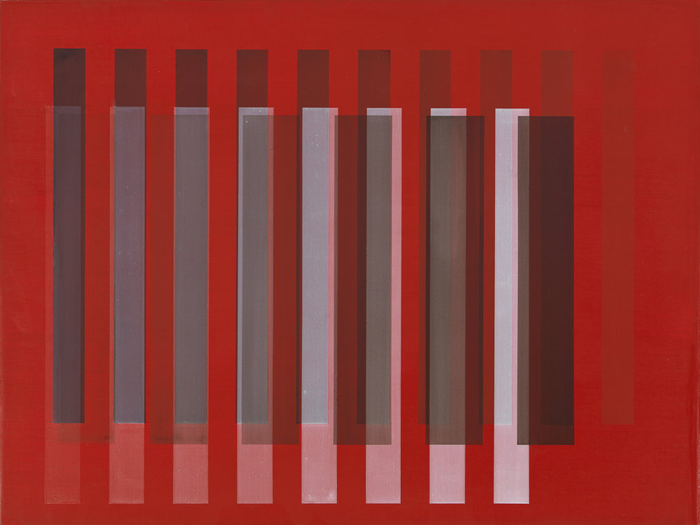 Red Shadowing, 2010, 18x24