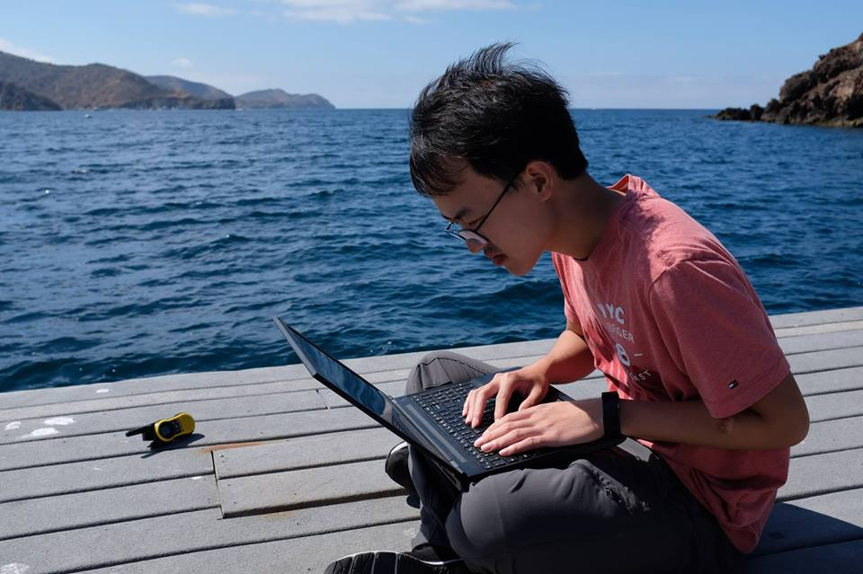 Coding by the sea