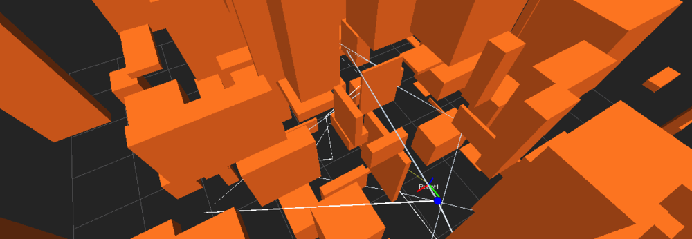 Multi-Robot Planning in 3D Cluttered Space