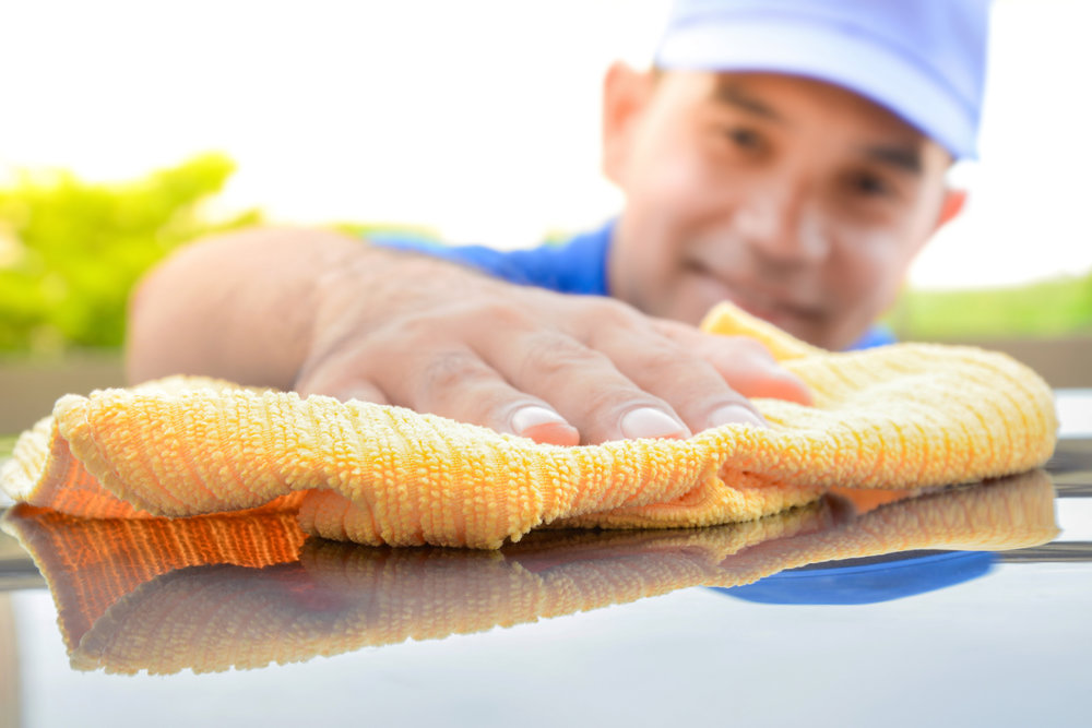 October special Rancho Elephant Car Wash in Rancho Mirage California detail