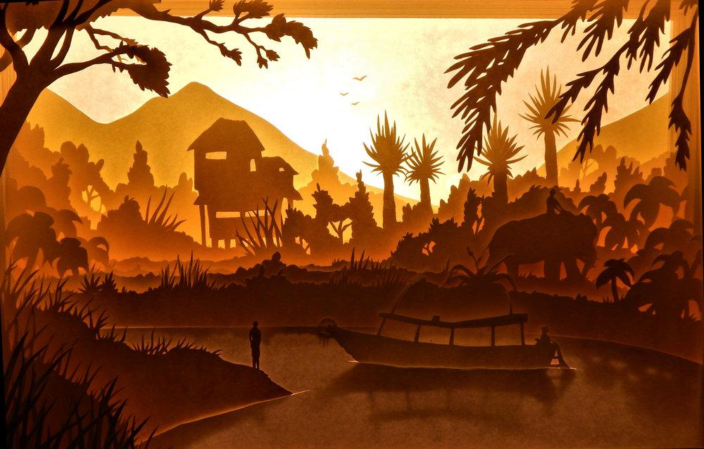 Namkhan river, Laos Vietnam 1.jpg