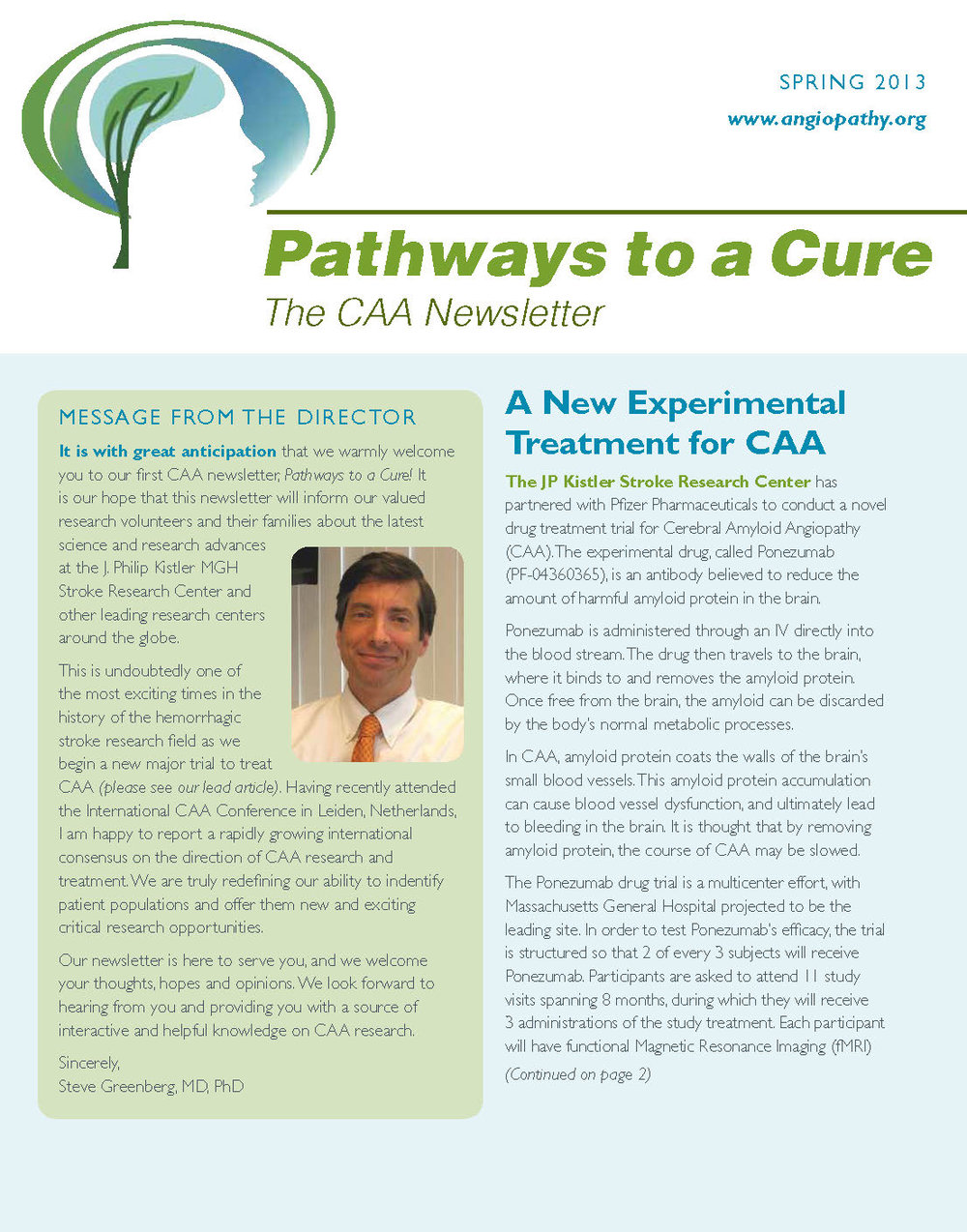 1st Edition - CAA Newsletter - Spring 2013_Page_1.jpg
