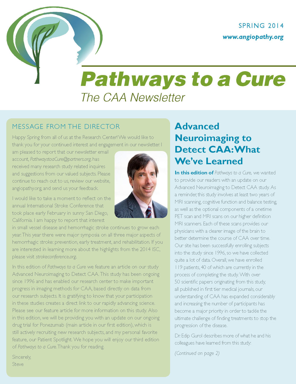 3rd Edition - CAA Newsletter - Spring 2014_Page_1.jpg