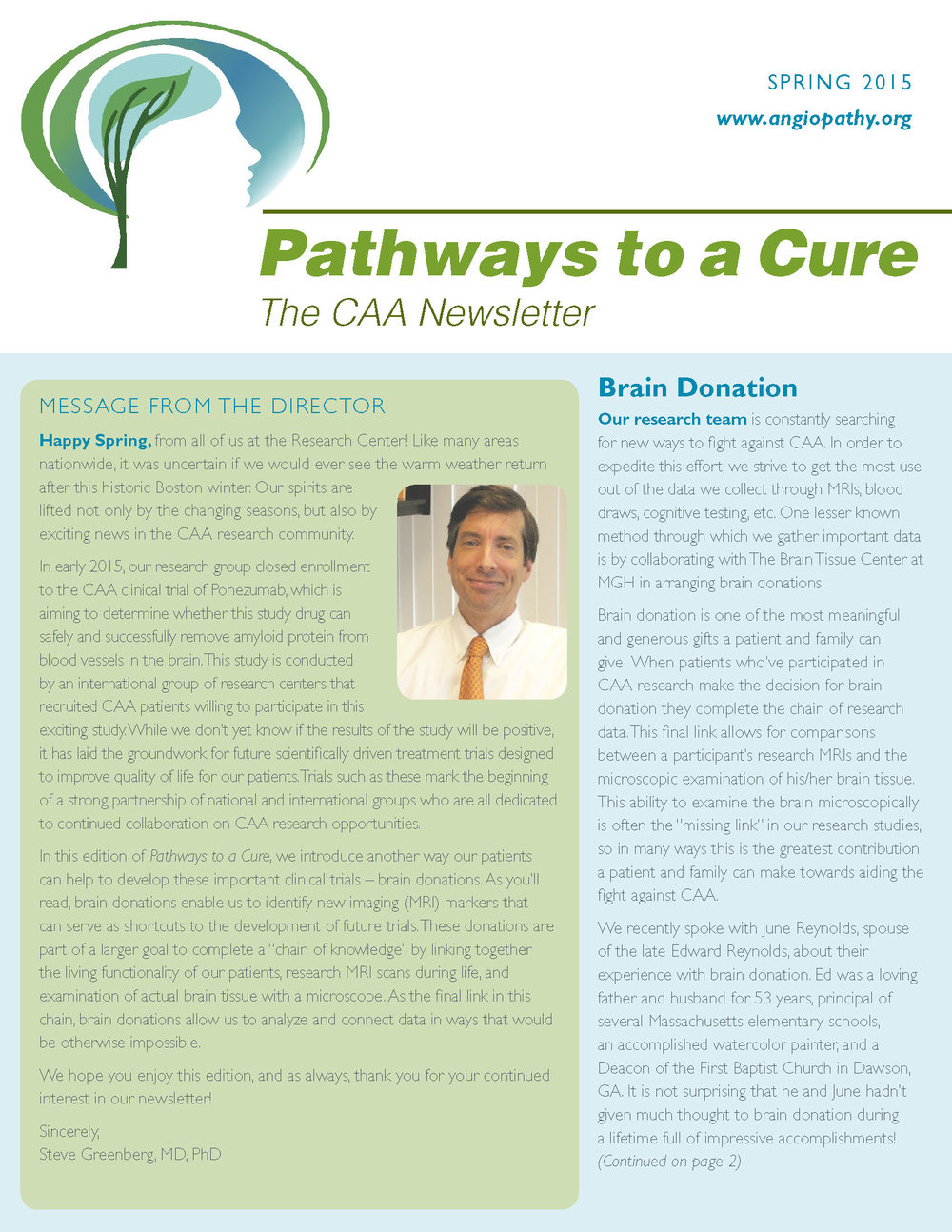 5th Edition - CAA Newsletter - Spring 2015_Page_1.jpg